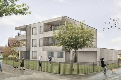 NEUBAU: 3 Zimmer Dachgeschosswohnung in einer Kleinwohnanlage mit nur 5 Einheiten in Höchst! TOP 4