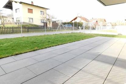 NEU: 4 Zimmerwohnung, 92,62m² Wfl. mit tollem Garten, TG-Platz und Abstellplatz in Gisingen!