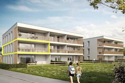 NEUBAU: 4 Zimmerwohnung mit Terrasse und Tiefgaragenplatz in Dornbirn!