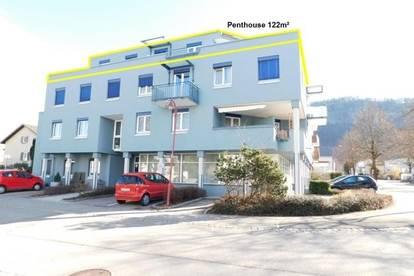 4 Zimmer-Penthouse mit ca. 122m² Wfl. und großer Sonnenterrasse inkl. Tiefgaragenplatz in Götzis!