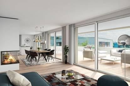 NEUBAU! Tolle Penthousewohnung mit 127,76m² im 2. OG - Haus B Top 13 - Keine Maklerkosten!