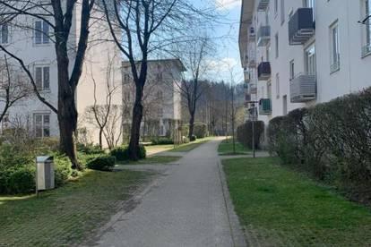 Sie suchen viel Raum: Großzügiger XL-3-Raum-Wohn(t)raum mit Essveranda und ausgewählter Nachbarschaft mitten in naturnaher Vorstadtoase ! Prov.frei