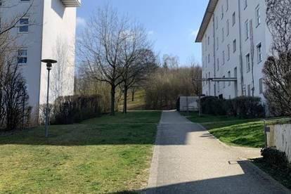 Naturnahes Wohnen im beliebten Stadtteil Ebelsberg! 2-Zimmer Wohnung mit idealer Raumaufteilung und optimaler öffentl. Verkehrsanbindung! Prov.-frei!