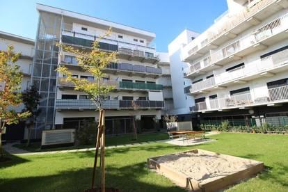 Ideale 2-Raum Single-Traum Wohnung im Neubau Rankenhof mit XXL Balkon zum Innenhof, sehr zentral gelegen! Provisionsfrei!