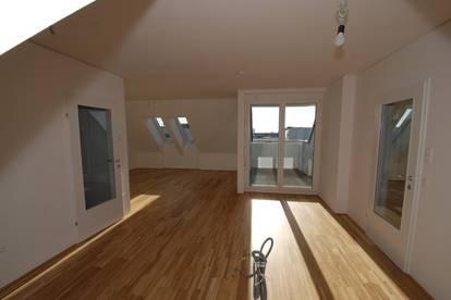 ACHTUNG: Tag der offenen Türe am 22.04. ab 14.00 Uhr! Viel Raum für Ihre Wohnträume: NEUBAU DG-Wohnung mit XL Aussichts-Loggia im beliebten OED!