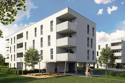 Pichling: Ganz oben mit Blick ins Grüne - leistbar dank großer Wohnbauförderung! Idyllisches Familienwohnen in Grünlage