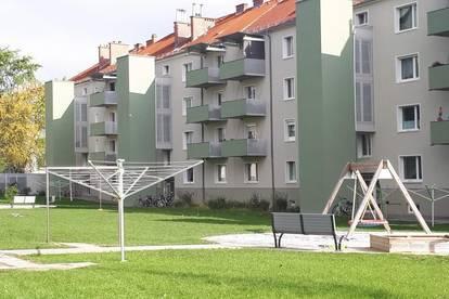 Ansprechende und gemütliche 3-Zimmer-Wohnung mit grünem Innenhof! Urbanes Wohnerlebnis im Welser Zentralraum mit bester Infrastruktur! Provisionsfrei!