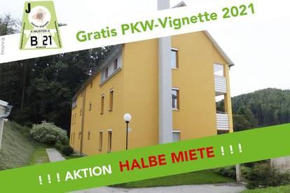 PROVISIONSFREI - Mürzzuschlag - ÖWG Wohnbau - geförderte Miete ODER geförderte Miete mit Kaufoption - 3 Zimmer