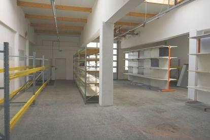 237m² große Halle in Neunkirchen (Heizung, Wasser & WC vorhanden) zu mieten