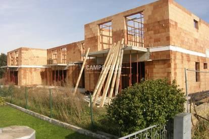 CAMPO-HAUS:Das OG ist auch schon aufgemauert! - Massiv-Bau, Wohntraum in einem Doppelhaus (4)! Belagsfertig Ende 2020