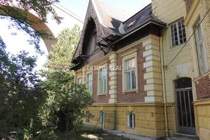 CAMPO-WOHNPROJEKT: Villentop 1: Palaiswohnung mit Veranda, Terrasse und Garten