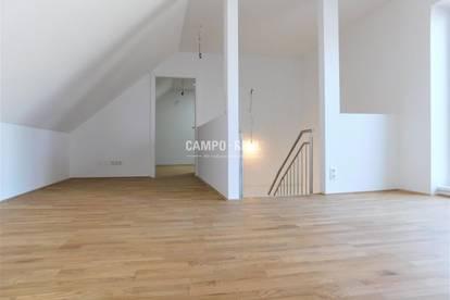 CAMPO-WOHNUNG: Top 2 - Großzügige, helle Maisonette-Terrassen-Wohnung in TOP-Lage