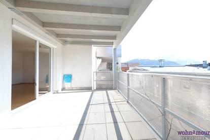 Sonnige 3-Zimmer-Wohnung mit Südwest-Terrasse