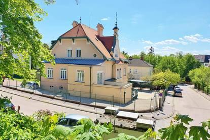 Villenetage - elitäre Wohnung - Terrasse - Carport