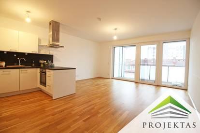 Phantastische 3 Zimmer Neubauwohnung mit Küche und Loggia in Urfahr - ab sofort verfügbar!