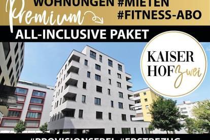 KAISERHOF 2   Chice 1,5 Zimmer-City-Wohnung mit Küche zum ERSTBEZUG - PROVISIONSFREI