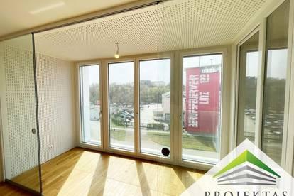 Lichtdurchflutete 2 Zimmerwohnung mit Küche und Fußbodenheizung!