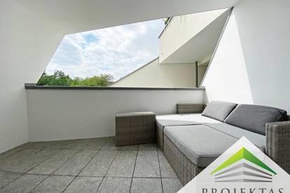 Vollmöblierte Design-Wohnung mit großem Balkon in ruhiger Citylage - inkl. Parkplatz