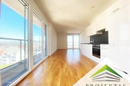 Extravagante 4 Zimmer-Dachgeschoss-Neubauwohnung mit großer Terrasse & Küche! - WG geeignet!