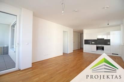 Perfekte 3 Zimmer Neubauwohnung mit Loggia und Küche - ab sofort verfügbar!