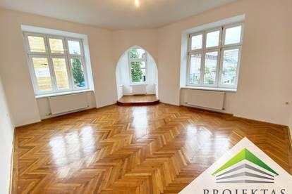 Großzügige 4 Zimmer Altbauwohnung mit Küche - ab sofort verfügbar!   360° Rundgang online!