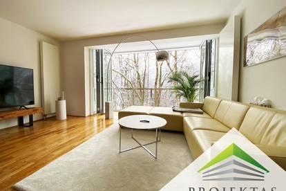 """Wohnen am Bachlberg - Schöne 3-Zimmerwohnung mit """"Wintergarten"""" und Blick ins Grüne!"""