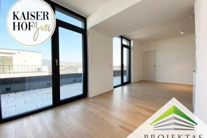 KAISERHOF 2   Premium Penthouse mit großer Terrasse zum ERSTBEZUG - PROVISIONSFREI