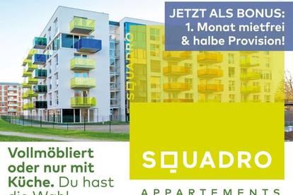 Ideal geschnittene 2 Zimmerwohnung mit Küche und Balkon! - Jetzt als BONUS: 1 Monat mietfrei!