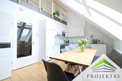 Traumhafte DG-Galerie-Wohnung mit Terrasse in bester Urfahraner Zentrumslage!