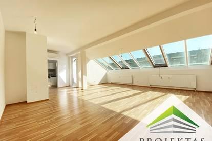 Lichtdurchflutete 2 Zimmer Dachgeschoss Wohnung am Linzer Froschberg - ab sofort verfügbar!