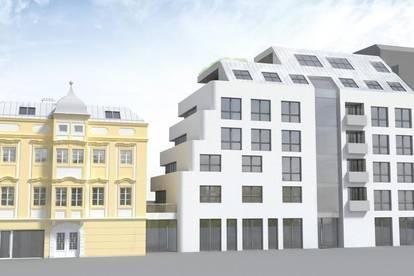 Repräsentatives Neubau-Geschäftslokal in der Linzer Innenstadt - Landstraßennähe!