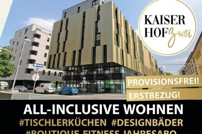 KAISERHOF 2   Exklusive 2 Zimmer-City-Wohnung mit Küche zum ERSTBEZUG - PROVISIONSFREI für den Mieter!