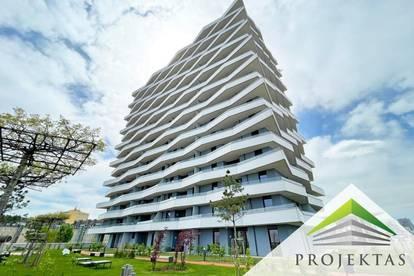 LENAU TERRASSEN - UP NACH OBEN! Exklusives Neubauprojekt bietet stylische 3 Zimmerwohnung!