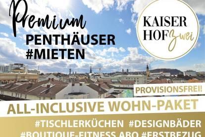 2-Zimmer-PENTHOUSE KAISERHOF 2   ALL-INCLUSIVE Wohnen zum ERSTBEZUG - PROVISIONSFREI