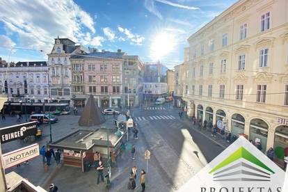 BESTLAGE - Stilvolles 3 Zimmer-Altbau-Büro direkt am Linzer Taubenmarkt