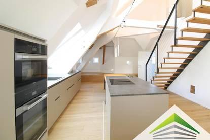 Sie suchen außergewöhnlich? Sensationeller DG-Ausbau: VILLA CASA GRANDE - 147 m² Maisonette am Pöstlingberg