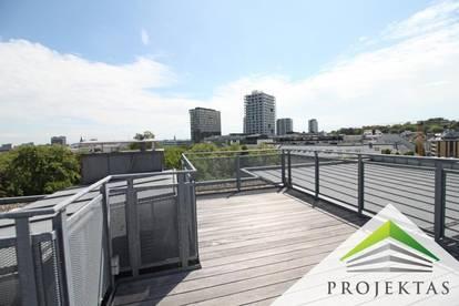 Sonniges Penthouse am Volksgarten mit spektakulärer Dachterrasse! 360° Rundgang online!