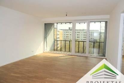 EXKLUSIVE 2 Zimmer NEUBAUwohnung mit Küche, Loggia & TG-Stellplatz im Kaiserhof