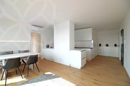 PALAIS LUSTENAU - Lust auf Lifestyle? Vollmöbliertes 3 Zimmer-Design-Penthouse
