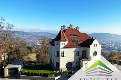 Märchenhafte Aussicht! Traumhafte Liegenschaft am Pöstlingberg - Villa CASAGRANDE