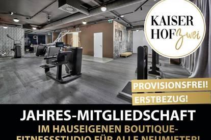 KAISERHOF 2   Provisionsfreie Luxuswohnung auf 48 m² in phänomenaler Citylage!