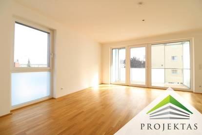 Gut aufgeteilte 2 Zimmer Neubauwohnung mit Loggia und Küche in Urfahr!