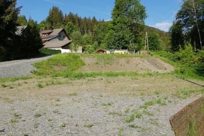 873 m² sonniges und ebenes Baugrundstück in Toplage von Hermagor!