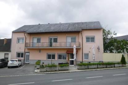 Gasthof mit Gastzimmer/DG ausbaubar / optional Bauprojekt für Firmensitz, Seniorenheim oder Wohnungen im Bezirk Oberpullendorf