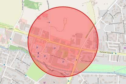 [05390] Betriebsgrundstück nahe hoch frequentierter Straße zu mieten.