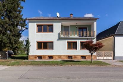 +Wohnhaus mit großzügigem Grundstück, Nebengebäuden, Terrasse, direkt neben Oberpullendorf! +