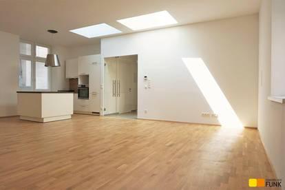 Traumsanierung: große 2 Zimmer in ruhigem Hofhaus