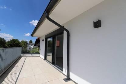 Erstbezug: Penthouse-Flair mit großzügiger Dachterrasse