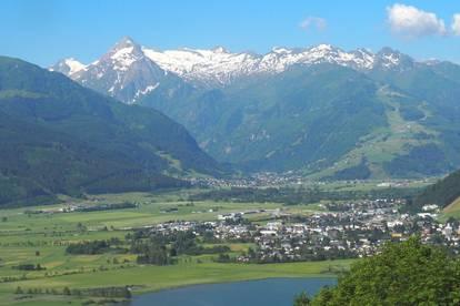 Zell am See: Baugrund mit Panoramablick und Sonnenlage, ca. 2.200 qm