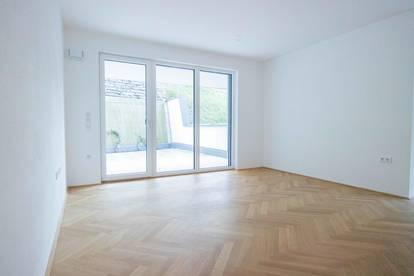 Erstbezug: Moderne 4-Zimmer-Terrassenwohnung im Stadtteil Gnigl